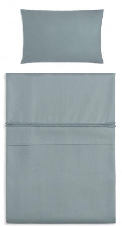 Baby's Only Dekbedovertrek Soft Cotton Stonegreen 100 x 135 cm