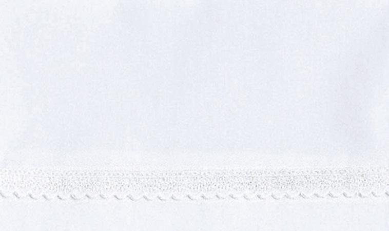 Cottonbaby Wieglaken Broderie Klein Wit<br/ > 75 x 90 cm