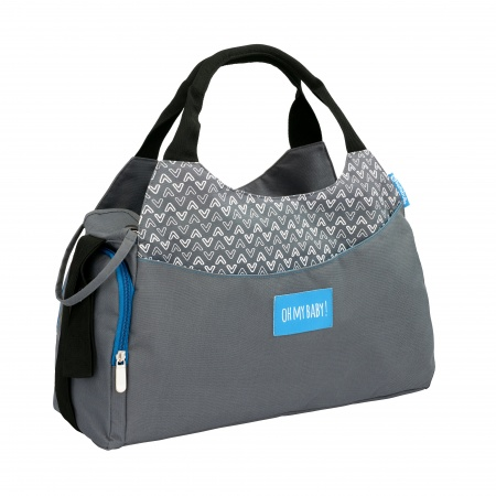 Badabulle Diaperbag Multipocket Grey