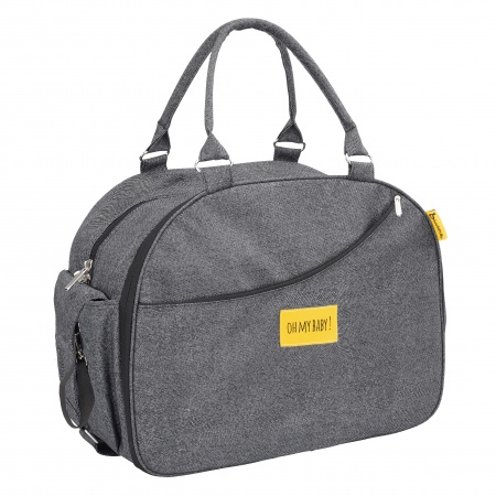 Badabulle Diaperbag Weekend Black