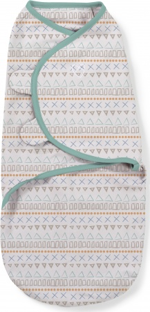 SwaddleMe Small <br>Aztec Shapes