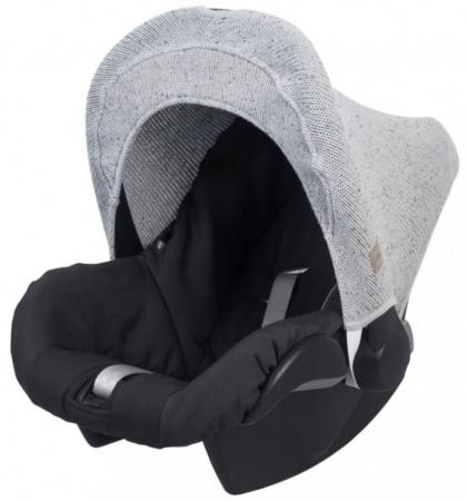 Jollein Zonnekap Confetti Knit Grey