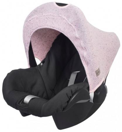 Jollein Zonnekap Confetti Knit Vintage Pink