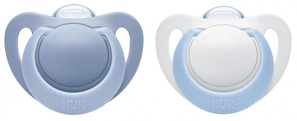 NUK Genius Fopspeen Soft Blue Prematuur 2Pack