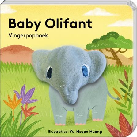 Imagebooks<br> Vingerpopboek Baby Olifant