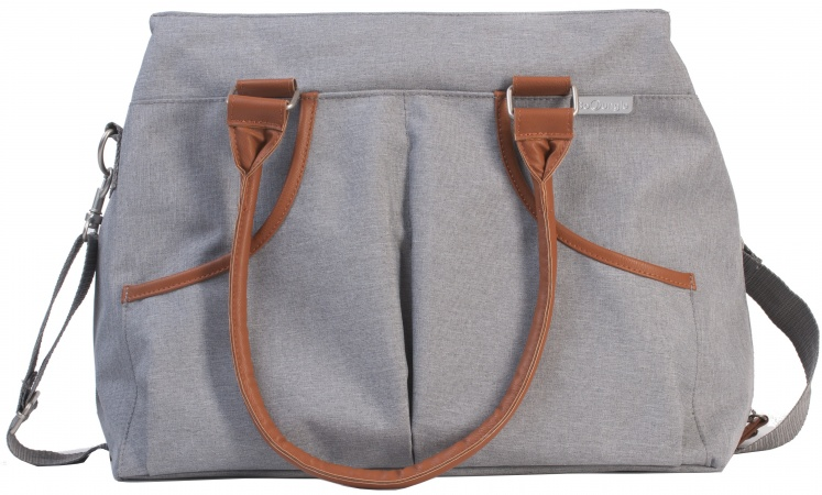 Bo-Jungle B-Casual Nursery Bag Grey