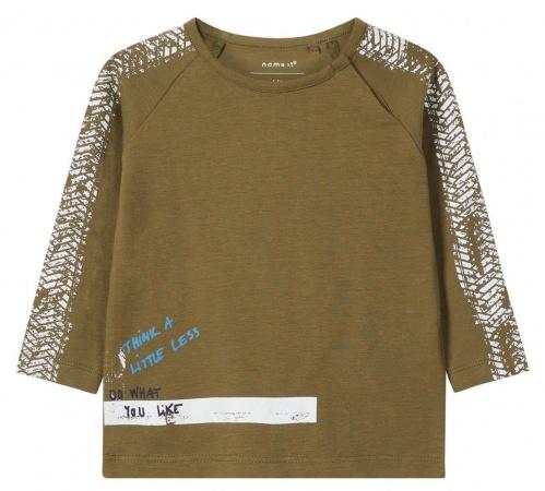Name It T-Shirt Lasom Burnt Olive