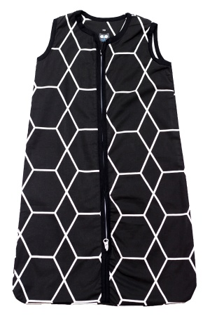 Briljant Slaapzak Zomer Grid Black 90cm