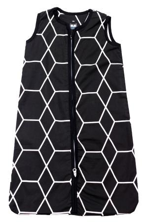 Briljant Slaapzak Zomer Grid Black 110cm