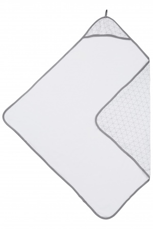 Meyco Badcape Triangle Grijs 90x90