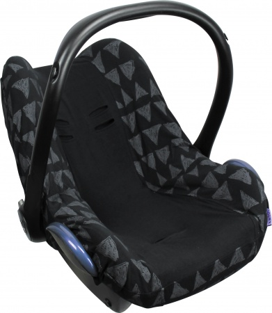Dooky Seat Cover 0+ Black Tribal