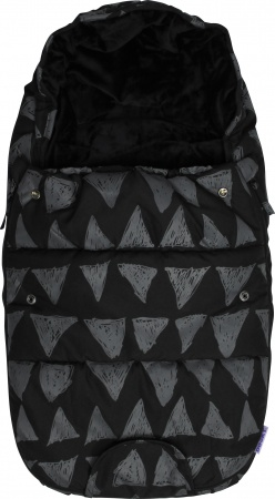Dooky Voetenzak Small Black Tribal