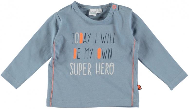 Babylook T-Shirt Hero Faded Denim