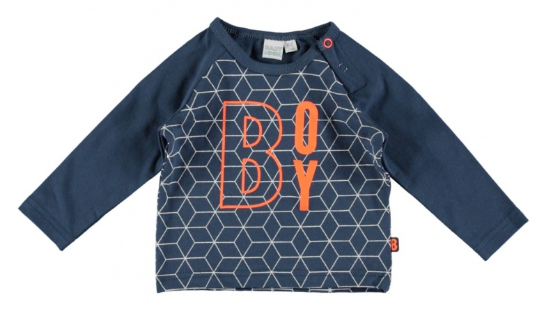 Babylook T-Shirt Boy Dark Denim