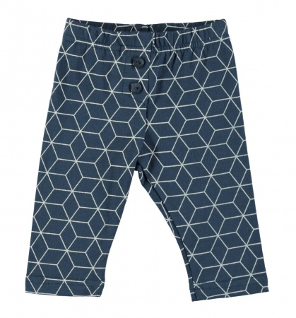 Babylook Broek Graphic Dark Denim