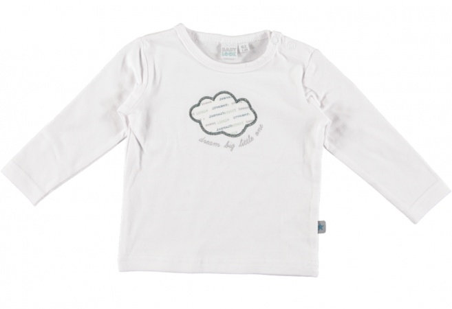 Babylook T-Shirt Cloud White