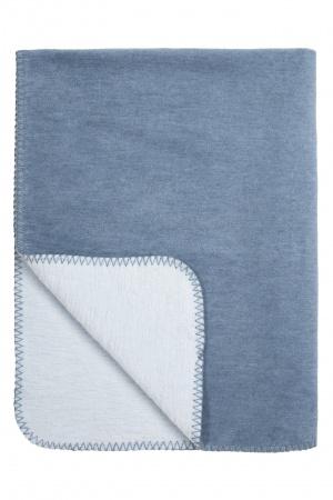 Meyco Deken Duo Jeans/L.blw <br> 75 x 100 cm
