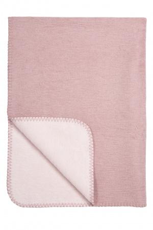 Meyco Deken Duo Warm Pink/L.Roze <br> 100 x 150 cm