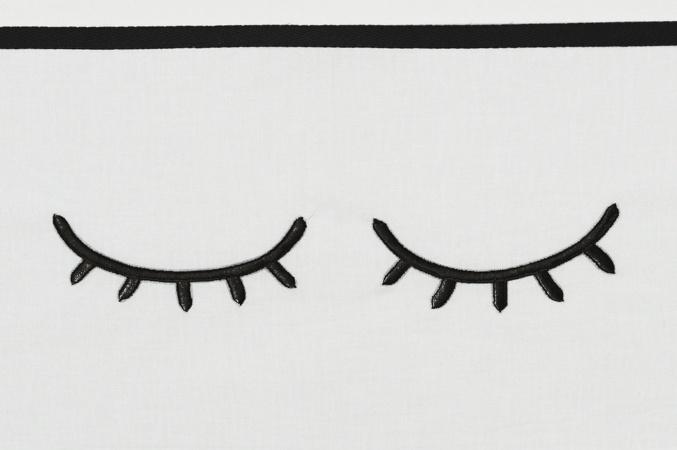 Meyco Laken Sleepy Eyes Zwart <br> 75 x 100 cm