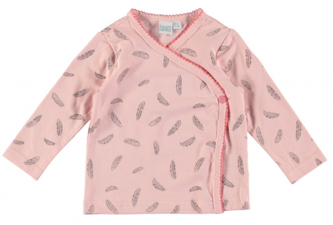 Babylook T-Shirt Feather Peachskin