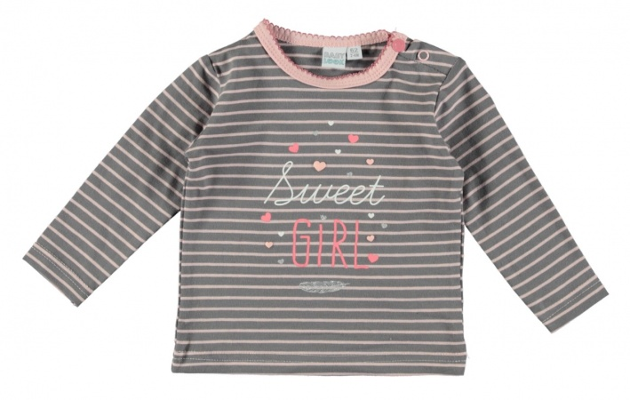 Babylook T-Shirt Stripes Quilt Shade