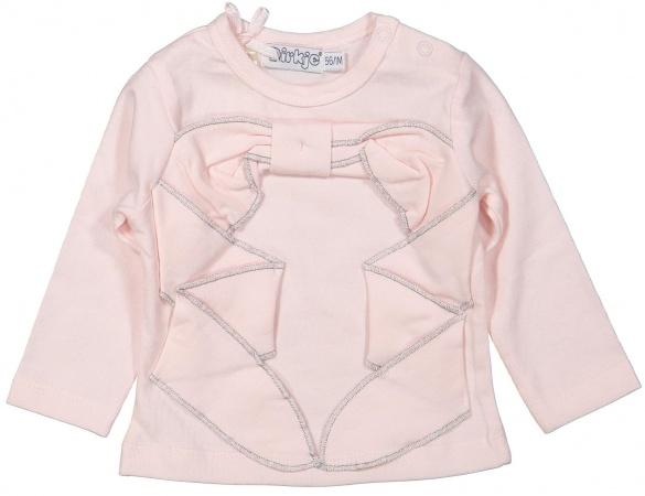 Dirkje T-Shirt Bow Light Pink