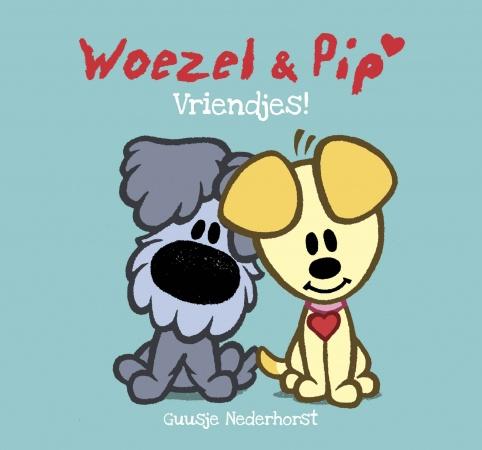 Leopold<br> Knisperboek Vriendjes Woezel En Pip