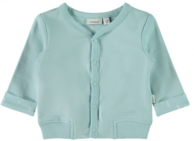 Name It Vest Delimo Canal Blue