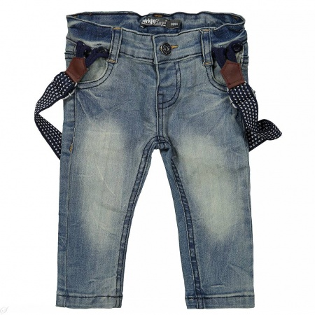 Jeans Bretels Blue