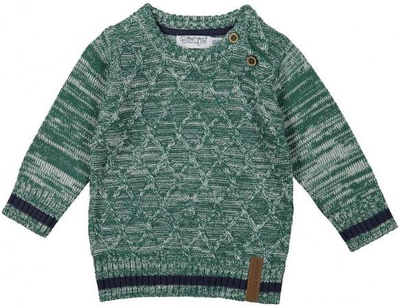 Dirkje Trui Knitted Green Melee