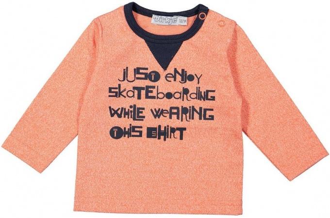 Dirkje T-Shirt Skate Faded Orange
