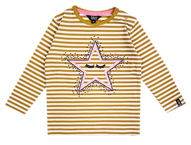 Beebielove T-Shirt Stripe Yellow