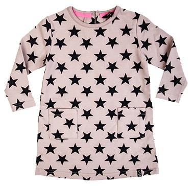 Beebielove Jurk Stars Pink