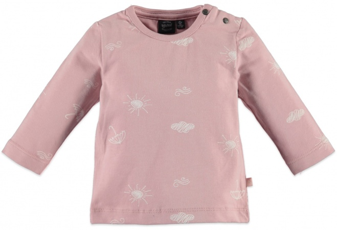 Babyface T-Shirt Print Pastel Pink