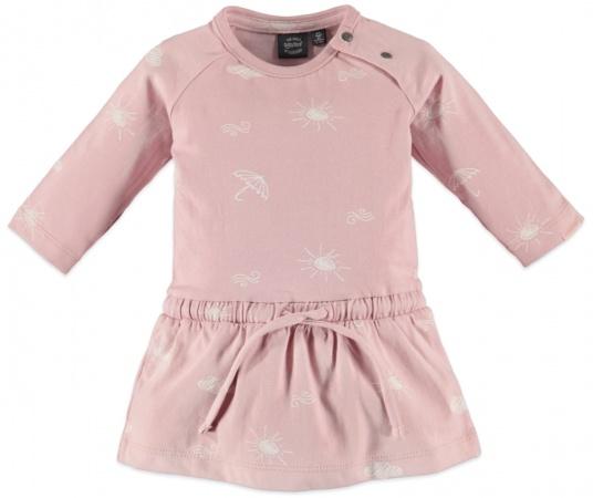Babyface Jurk Print Pastel Pink