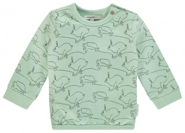 Noppies Sweater Tavares Grey Mint