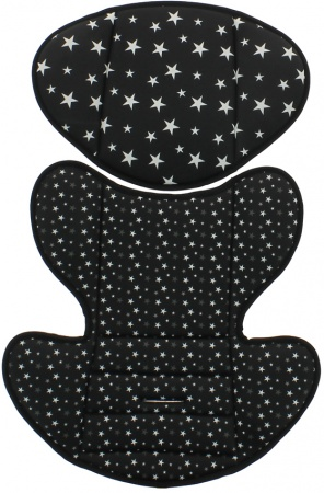 Nania Racer Custo Star Black Insert