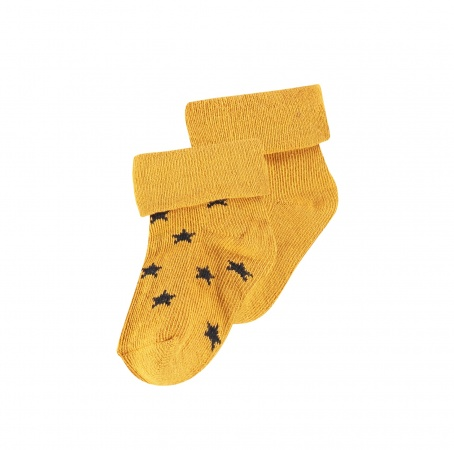 Noppies Sokjes 2-Pack Levi Stars Honey Yellow