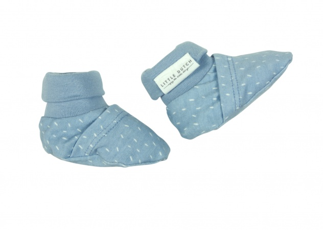 Little Dutch Slofjes Speckle Blue