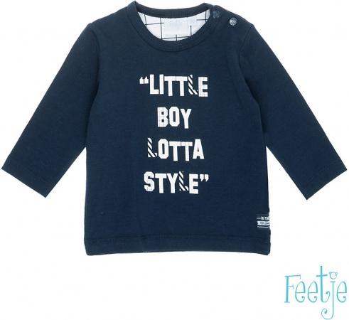 Feetje T-Shirt Little Boy Marine