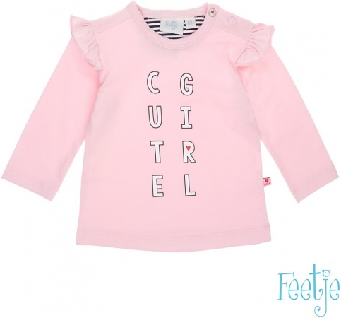 Feetje T-Shirt Cute Girl Roze