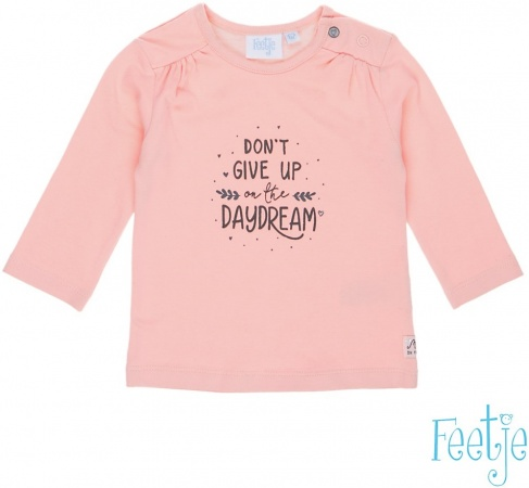 Babykleding Roze.Feetje T Shirt Daydream Roze Babykleding Baby Dump