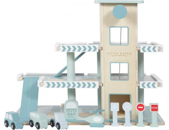 Houten Garage Speelgoed : Little dutch garage speelgoed baby dump