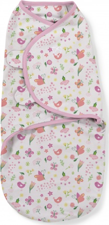 SwaddleMe Small <br>Flowers & Butterflies