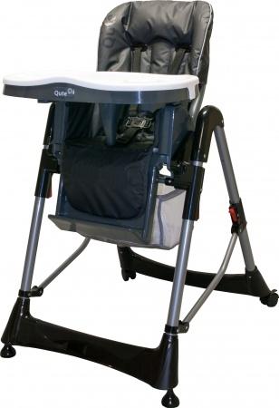 Qute Kinderstoel Q-Diner Antraciet