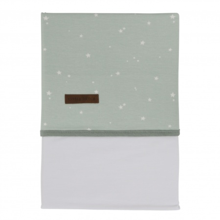 Little Dutch Laken Little Stars Mint  <br> 110 x 140 cm