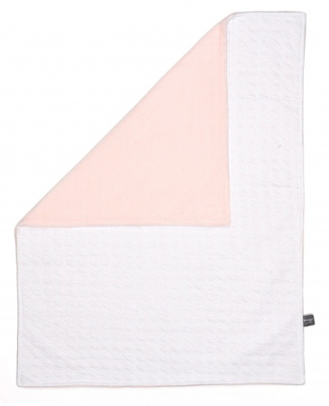 Snoozebaby Blanket Cot 100x150 Orchid Blush