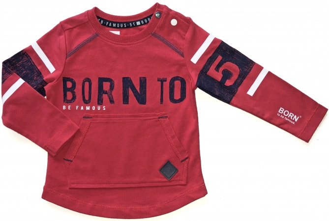 Born To Be Famous T-Shirt Born Red