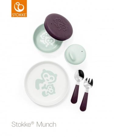 Stokke® Munch Everyday Set Soft Mint