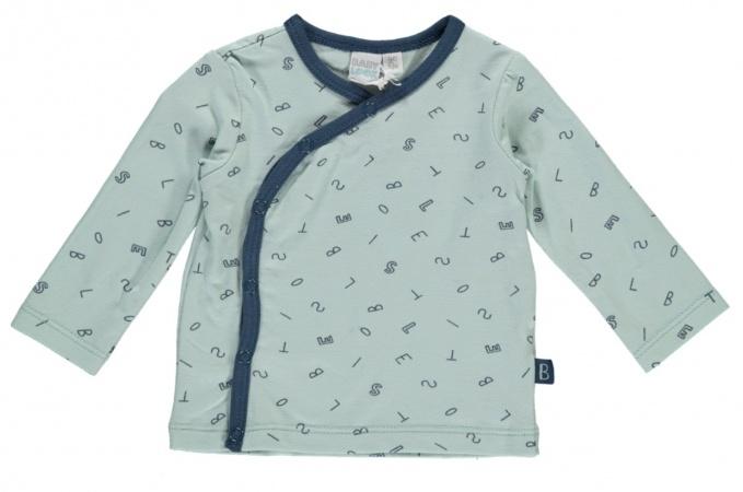 Babylook T-Shirt Overslag Mint